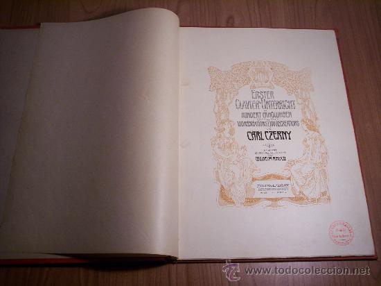 Libretos de ópera: ERSTER CLAVIER-UNTERRICHT IN 100 ERHOLUNGEN (CARL CZERNY) - Foto 2 - 29156863