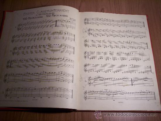 Libretos de ópera: ERSTER CLAVIER-UNTERRICHT IN 100 ERHOLUNGEN (CARL CZERNY) - Foto 3 - 29156863