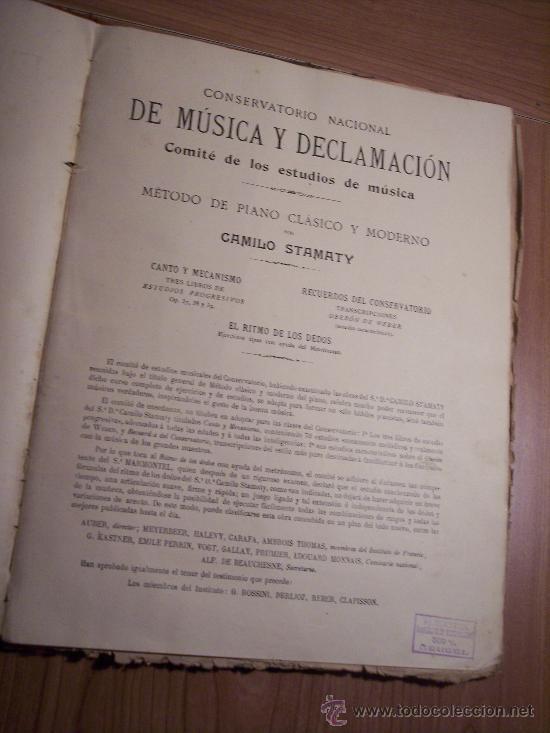 Libretos de ópera: EL RITMO DE LOS DEDOS (EJERCICICOS TIPOS) POR: CAMILO STAMATY - Foto 3 - 29614234