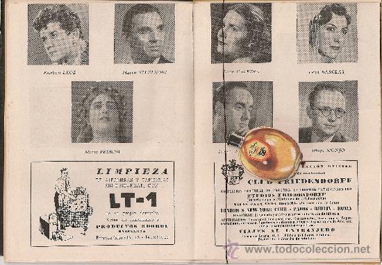 Libretos de ópera: Programa Gran Teatro del Liceo. Temporada 1950-51. Nabucco / G.Verdi. 19x13cm. 36 p. - Foto 2 - 29828710