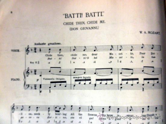Libretos de ópera: ANTIGUO LIBRETO * THE MUSIC LOVERS LIBRARY famous operatic songs * MADAME LUISA TETRAZZINI - Foto 3 - 30274162