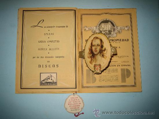Libretos de ópera: LIBRETO GRAN TEATRO DEL LICEO, TEMPORADA DE INVIERNO 1947-1948, CARMEN - Foto 4 - 31404703
