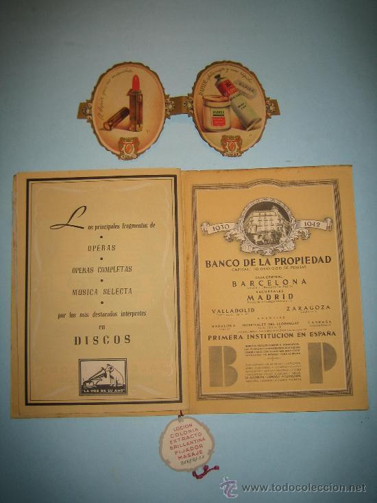 Libretos de ópera: LIBRETO GRAN TEATRO DEL LICEO, TEMPORADA DE INVIERNO 1947-1948, CARMEN - Foto 6 - 31404703