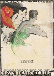 OPERA.G T LICEO.TEMPORADA 1926/27.FREISCHUTZ (Música - Libretos de Opera)