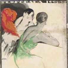 Libretos de ópera: OPERA.G T LICEO.TEMPORADA 1926/27.FREISCHUTZ. Lote 32802075