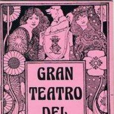 Libretos de ópera: OPERA.GT LICEO.TEMP 1975/76.LA TRAVIATA 40ª REPRESENTACION. G VERDI . Lote 32898152