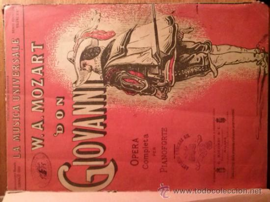Libretos de ópera: DOS OPERAS: AFRICANA G. MEYERBEER Y DON GIOVANNI DE MOZART. - Foto 2 - 33267659