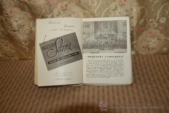 Libretos de ópera: 2786- PROGRAMAS DEL GRAN TEATRO DEL LICEO. LOTE DE 34 EJEMPLARES. VER DESCRIPCION. - Foto 6 - 36379052