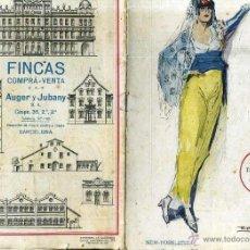 Libretos de ópera: GRAN TEATRO DEL LICEO : I PESCATORI DI PERLE (BIZET) 1920. Lote 39936212