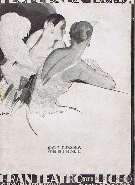 GRAN TEATRO DEL LICEO DE BARCELONA - PROGRAMA OFICIAL TEMPORADA 1926-1927. BARCELONA: 1926. 13X18. P (Música - Libretos de Opera)