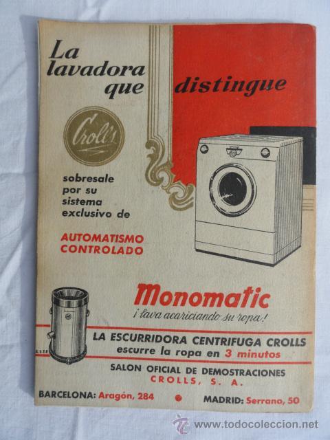 Libretos de ópera: PROGRAMA TEMPORADA INVIERNO 1957 -1958 GRAN TEATRO DEL LICEO. - Foto 4 - 41632423