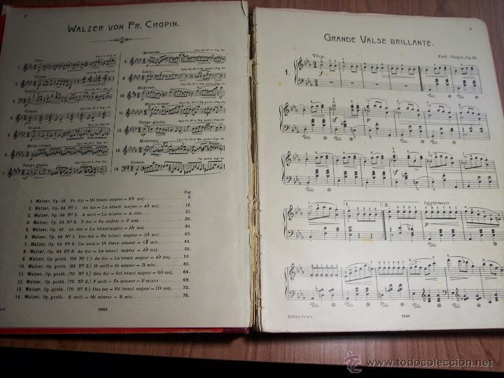 Libretos de ópera: FR. CHOPIN (VALSES Y MAZURKAS) - Foto 4 - 42177055