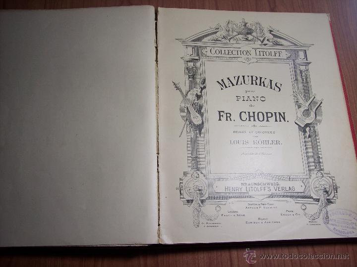 Libretos de ópera: FR. CHOPIN (VALSES Y MAZURKAS) - Foto 9 - 42177055