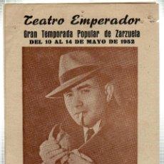 Libretos de ópera: TEATRO EMPERADOR. LEON. MANUEL ABAD. GRAN COMPAÑIA LIRICA. ELADIO CUEVAS. 1952. LEER. Lote 42257611