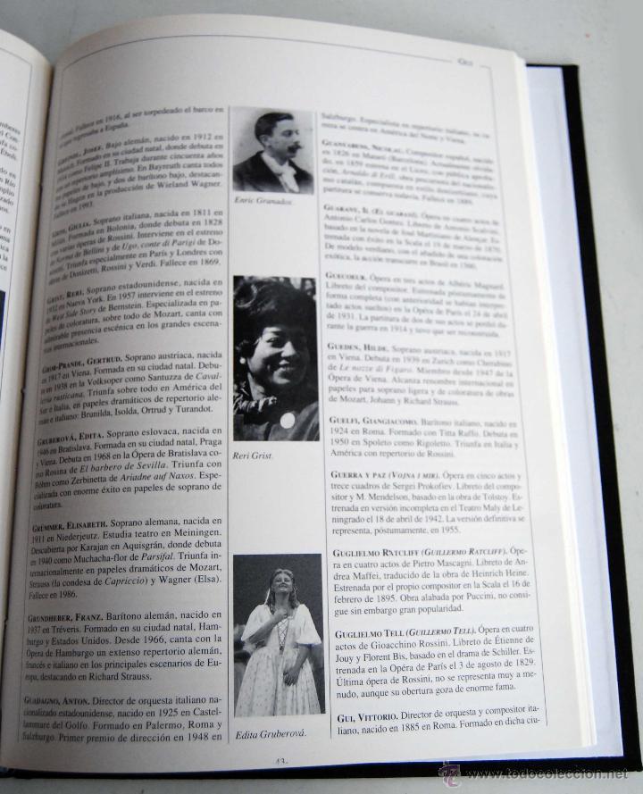Libretos de ópera: OPERA COLLECTIOR DICCIONARIO DE ORBIS FABRI AÑO 1994 COLLECTION COLECCION - Foto 2 - 42465253