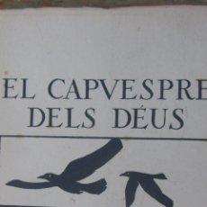Libretos de ópera: EL CAPVESPRE DELS DÉUS DE RICARD WAGNER (FILOGRÀFIC). Lote 42817757
