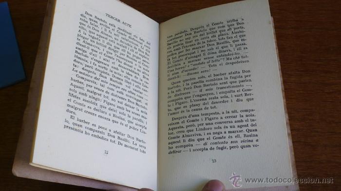 Libretos de ópera: IL BARBIERE DI SIVIGLIA MELODRAMA GIOCOSO IN TRE ATTI DA RAPPRESSENTARSI NEL TEATRO TIVOLI. 1932 - Foto 3 - 43905252