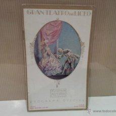 Opern-Librettos - gran teatro del liceo programa oficial 1925-1926 escelente estado - 45464748