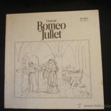 Libretos de ópera: LIBRETO - ROMEO AND JULIET - CON 2 FIRMAS, UNA DE MIRELLA FRENI Y FRANCO CORELLI -. Lote 46169471