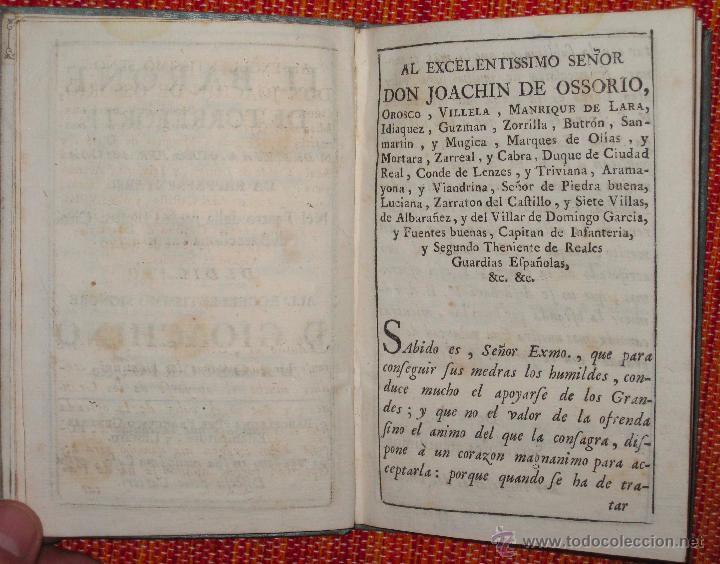 Libretos de ópera: Nicolò Piccini. Il barone di Torreforte. Barcelona. 1765 - Foto 3 - 49083800