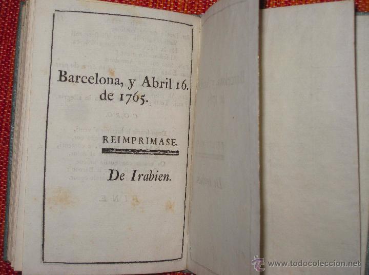 Libretos de ópera: Nicolò Piccini. Il barone di Torreforte. Barcelona. 1765 - Foto 4 - 49083800