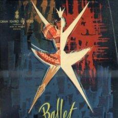 Libretos de ópera: GRAN TEATRO DEL LICEO - BALLET TEATRO DE LA ÓPERA DE SOFÍA PRIMAVERA 1963 - GRAN FORMATO. Lote 49857895
