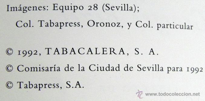 Libretos de ópera: CARMEN DE GEORGES BIZET LIBRETO Y NOTAS ILUSTRADO - ÓPERA MÚSICA ARTE - SEVILLA EXPO92 EXPO 92 1992 - Foto 2 - 50830531