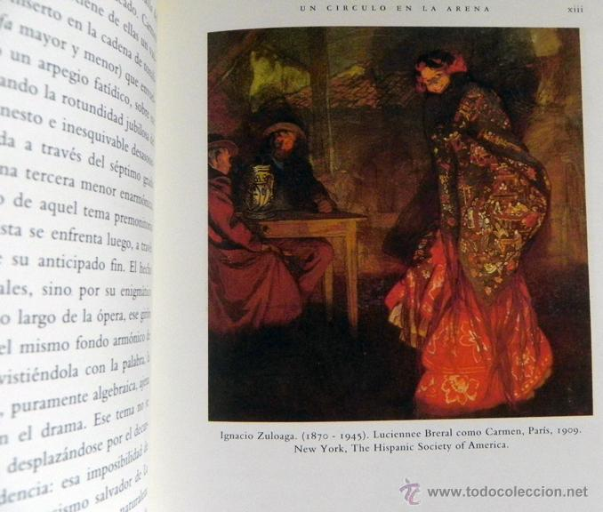 Libretos de ópera: CARMEN DE GEORGES BIZET LIBRETO Y NOTAS ILUSTRADO - ÓPERA MÚSICA ARTE - SEVILLA EXPO92 EXPO 92 1992 - Foto 4 - 50830531
