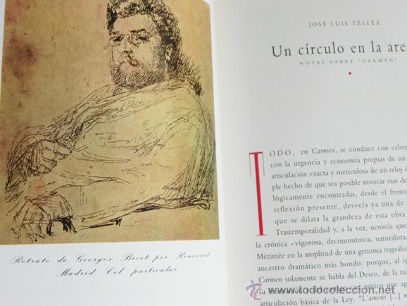 Libretos de ópera: CARMEN DE GEORGES BIZET LIBRETO Y NOTAS ILUSTRADO - ÓPERA MÚSICA ARTE - SEVILLA EXPO92 EXPO 92 1992 - Foto 8 - 50830531