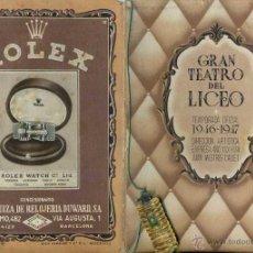 Libretos de ópera: GRAN TEATRO DEL LICEO TEMPORADA 1946-47 : MEFISTOFELE. Lote 51958646