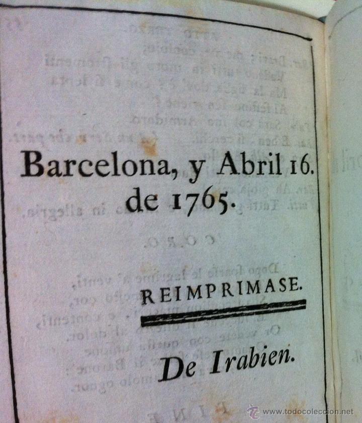 Libretos de ópera: Nicolò Piccini. Il barone di Torreforte. Barcelona. 1765 - Foto 9 - 49083800