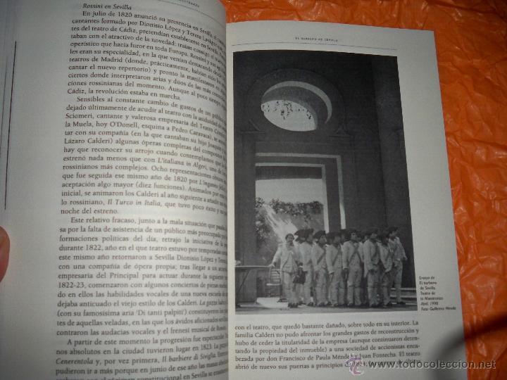 Libretos de ópera: LIBRETO OPERA EL BARBERO DE SEVILLA ROSSINI LIBRO MAESTRANZA - Foto 2 - 54450412