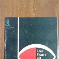 Libretos de ópera: GRAN TEATRO DEL LICEO TEMPORADA DE INVIERNO 1963-1964.OPERA MANON EN CINCO ACTOS.. Lote 55781437