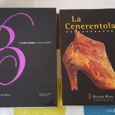 Libretos de ópera: ROSSINI. LA CENERENTOLA. IL BARBIERE DI SIVIGLIA. . Lote 57472847