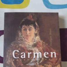 Libretos de ópera: BIZET. CARMEN.. Lote 57473206