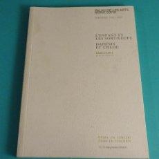 Libretos de ópera: L'ENFANT ET LES SORTILÈGES. DAPHNIS ET CHLOÉ. MAURICE RAVEL.PALAU DE LES ARTS REINA SOFÍA. 2006/2007. Lote 57683060