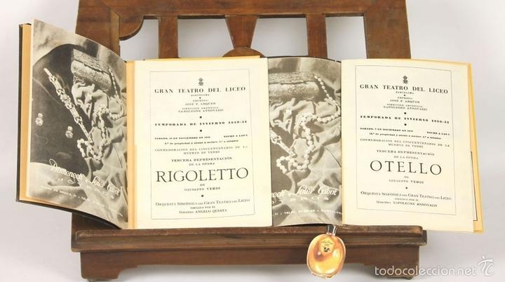Libretos de ópera: 7728 - LOTE DE 41 PROGRAMAS MÁS 2 CARTELES DEL TEATRO DEL LICEO(VER DESCRIP). 1948/1956. - Foto 10 - 57768042