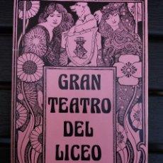 Libretos de ópera: LIBRETO LICEO BARCELONA, 1976, '' LUCIA DI LAMMERMOOR '', ÓPERA DE DONIZETTI, CON PEDRO LAVIRGEN. Lote 57834199