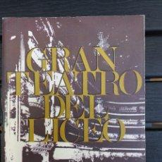Livrets d'opéra: LIBRETO LICEO BARCELONA, 1968, '' ROBERTO DEVEREUX '', ÓPERA DE DONIZETTI, CON MONTSERRAT CABALLÉ. Lote 57835434