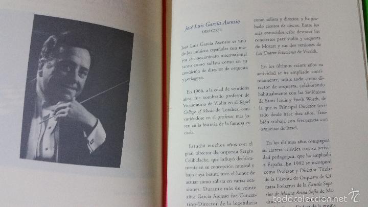 Libretos de ópera: Escuela Superior de Música Reina Sofía Orquesta de Cámara Freixenet Inauguración Curso Académico - Foto 3 - 57994711