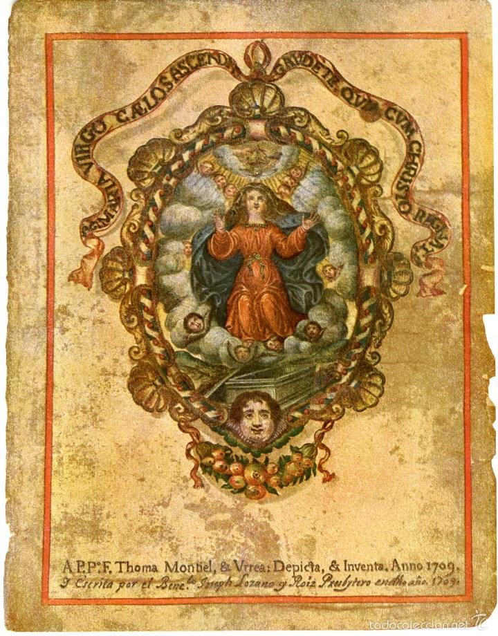 1709. CONSUETA DE LA FIESTA DE ELCHE. Nº 1 DE LA COLECCIÓN DE TEXTOS Y DOCUMENTOS PARA LA HISTORIA.. (Música - Libretos de Opera)