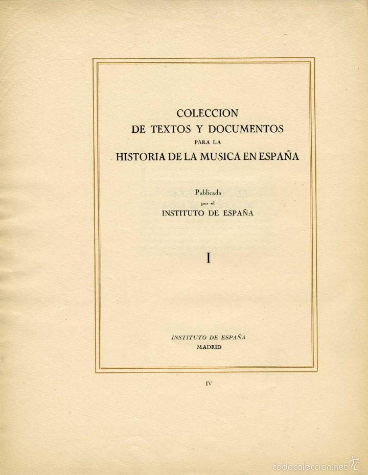 Libretos de ópera: 1709. CONSUETA DE LA FIESTA DE ELCHE. Nº 1 DE LA COLECCIÓN DE TEXTOS Y DOCUMENTOS PARA LA HISTORIA.. - Foto 2 - 164899305