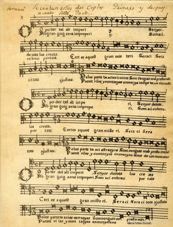 Libretos de ópera: 1709. CONSUETA DE LA FIESTA DE ELCHE. Nº 1 DE LA COLECCIÓN DE TEXTOS Y DOCUMENTOS PARA LA HISTORIA.. - Foto 4 - 164899305