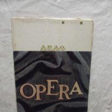 Libretos de ópera: XVIII FESTIVAL DE OPERA 1969. Lote 63253128