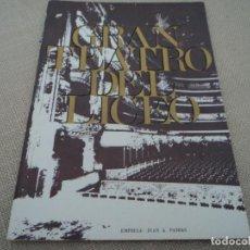 Libretos de ópera: GRAN TEATRO DEL LICEO BARCELONA MARIA STUARDA MONTSERRAT CABALLE 1968. Lote 68850697