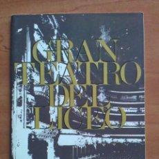 Libretos de ópera: 1969 HOMENAJE Y DESPEDIDA A CABALLÉ - TEATRO LICEO BARCELONA. Lote 68888237