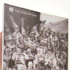 Libretos de ópera: CAVALLERIA RUSTICANA - PAGLIACCI. GRAN TEATRE DEL LICEU. TEMPORADA 2010-2011. Lote 70429377