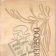 Libretos de ópera: PROGRAMA PRIMER GRAN FESTIVAL DE OPERA-.ABAO.-BILBAO 1953. 50 PÁG. Lote 74950571