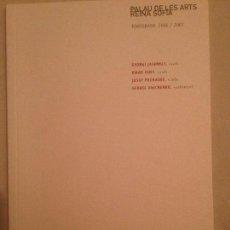 Libretos de ópera: LIBRETO DE CONCIERTO DE CAMBRA. AULA MAGISTRAL PALAU DE LES ARTS 2006.. Lote 77820697
