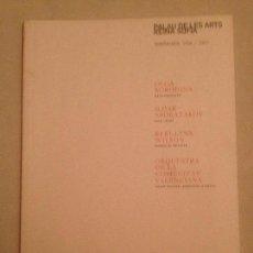 Libretos de ópera: LIBRETO DE RECITALES. PALAU DE LES ARTS FEBRERO 2007.. Lote 77821349